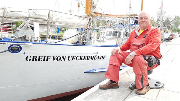Verantw. Vorstandsmitglied für Schiffsbetrieb Eckhard Budy