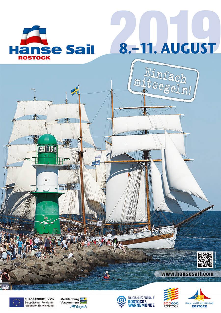 Mitsegeln zur Hanse Sail 2019